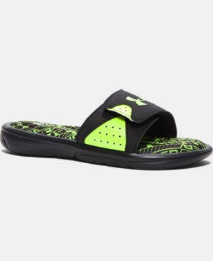 Boys' UA Ignite Velocity Slides LIMITED TIME: FREE SHIPPING 3 Colors $23.99