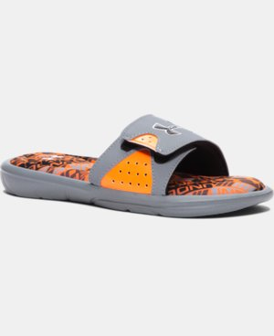 Boys' UA Ignite Velocity Slides LIMITED TIME: FREE U.S. SHIPPING 1 Color $17.99
