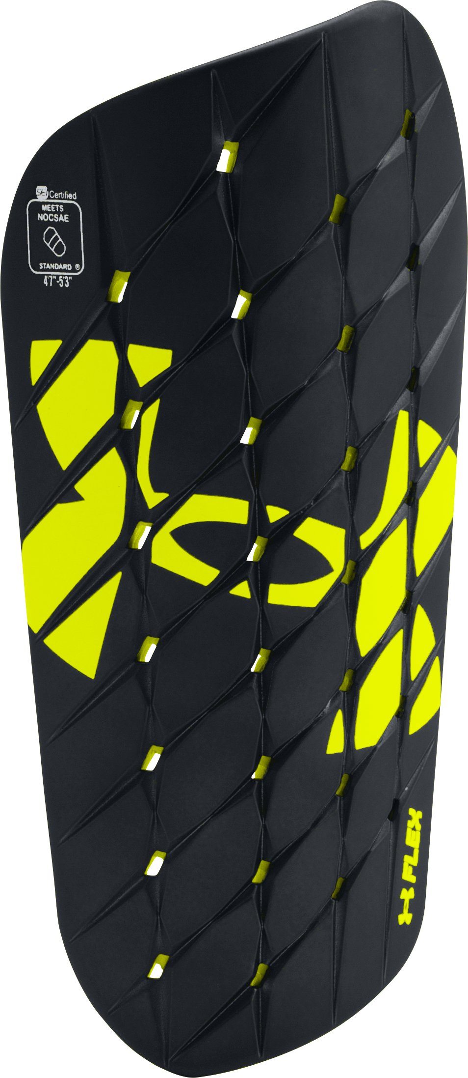 Men's UA Armour Flex Pro Shinguard, Black , zoomed image