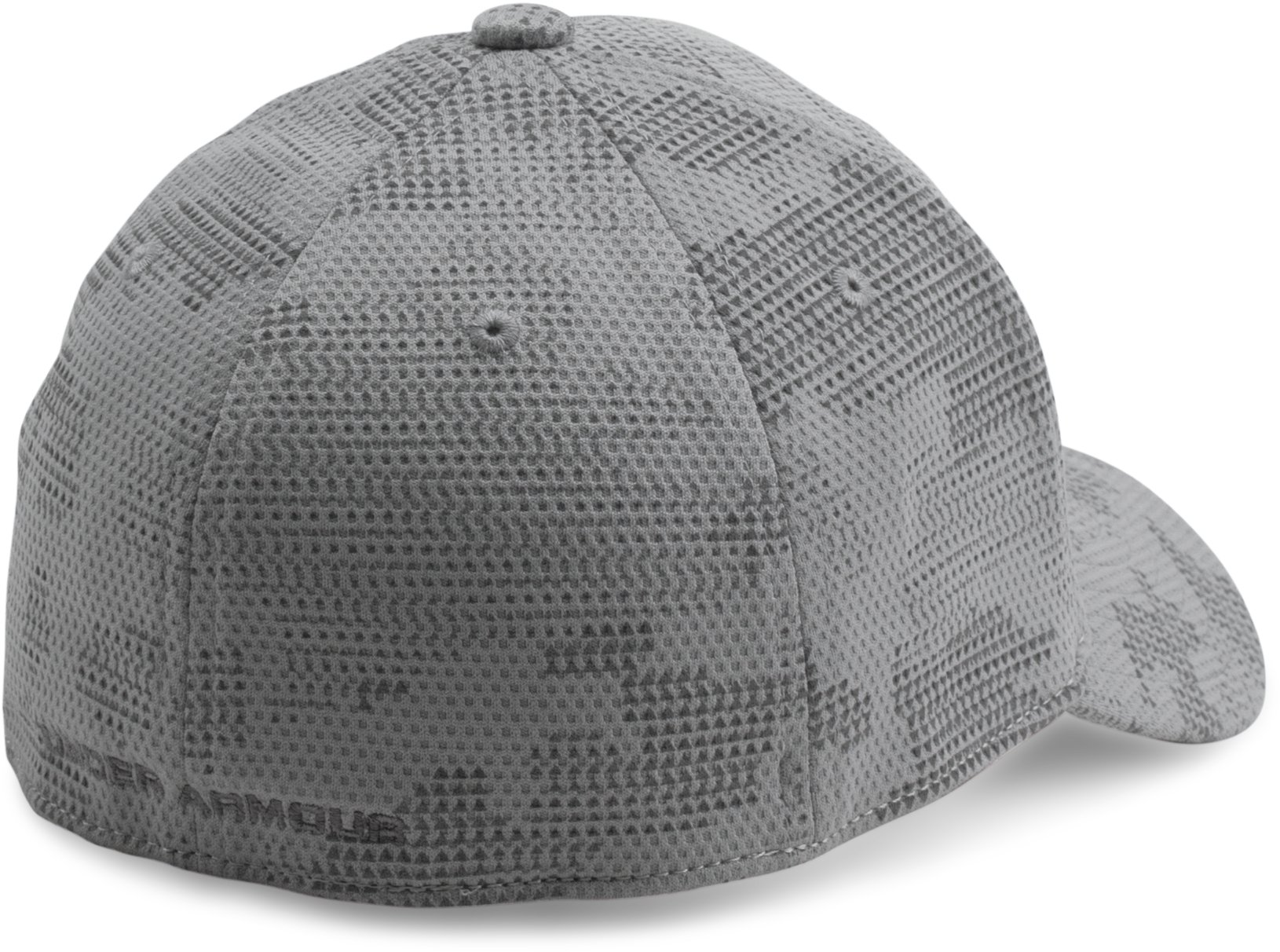 Boys' UA Printed Blitzing Cap, Steel, undefined