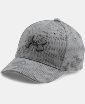 Boys' UA Printed Blitzing Cap  3 Colors $21.99