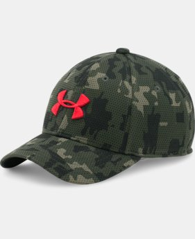 Boys' UA Printed Blitzing Cap LIMITED TIME: FREE SHIPPING 2 Colors $25.99