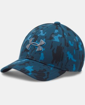 Boys' UA Printed Blitzing Cap LIMITED TIME: FREE U.S. SHIPPING 2 Colors $16.99