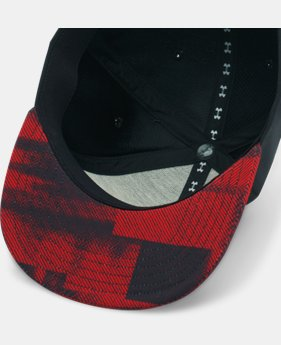Boys' UA Eyes Up 3.0 Flat Brim Stretch Fit Cap  1 Color $24.99