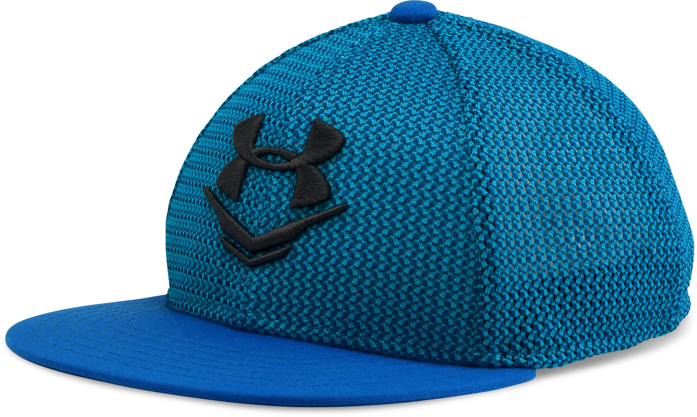 Boys' UA Knit Mesh Snap Back Cap, ULTRA BLUE
