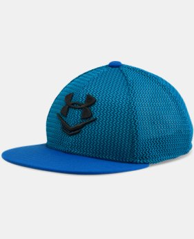 Boys' UA Knit Mesh Snap Back Cap LIMITED TIME: FREE U.S. SHIPPING 2 Colors $16.99