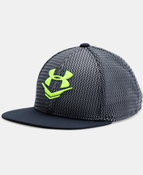Boys' UA Knit Mesh Snap Back Cap LIMITED TIME: FREE U.S. SHIPPING 1 Color $16.99