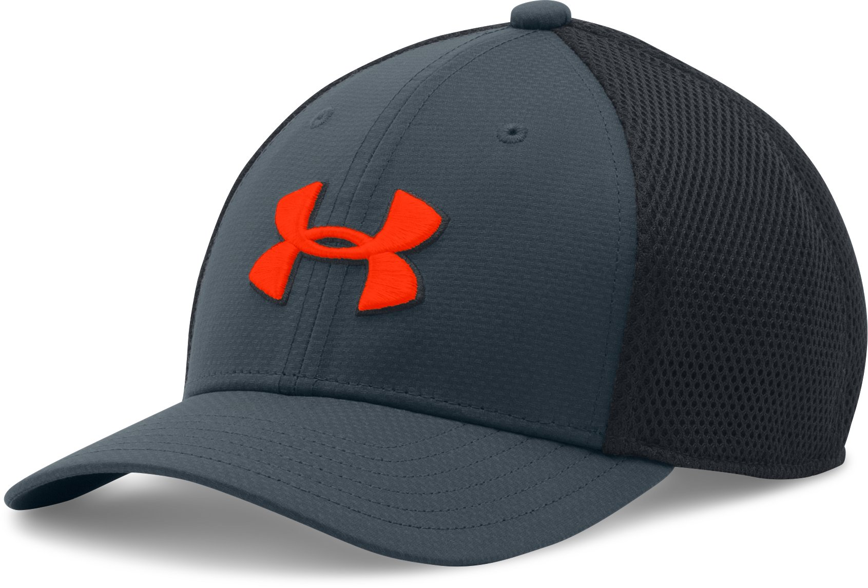 Boys' UA Golf Classic Mesh Cap, STEALTH GRAY
