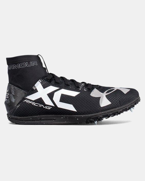 UA Charged Bandit XC Spike Running Shoes, Black, pdpMainDesktop image number 0