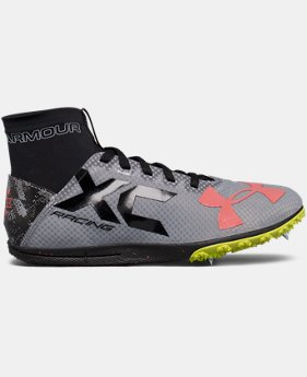 UA Charged Bandit XC Spike Running Shoes  2 Colors $109.99