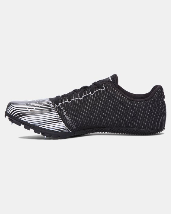 Men's UA Kick Sprint Track Spikes, White, pdpMainDesktop image number 1