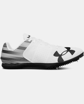 Men's UA Kick Distance Track Spikes  1  Color Available $79.99