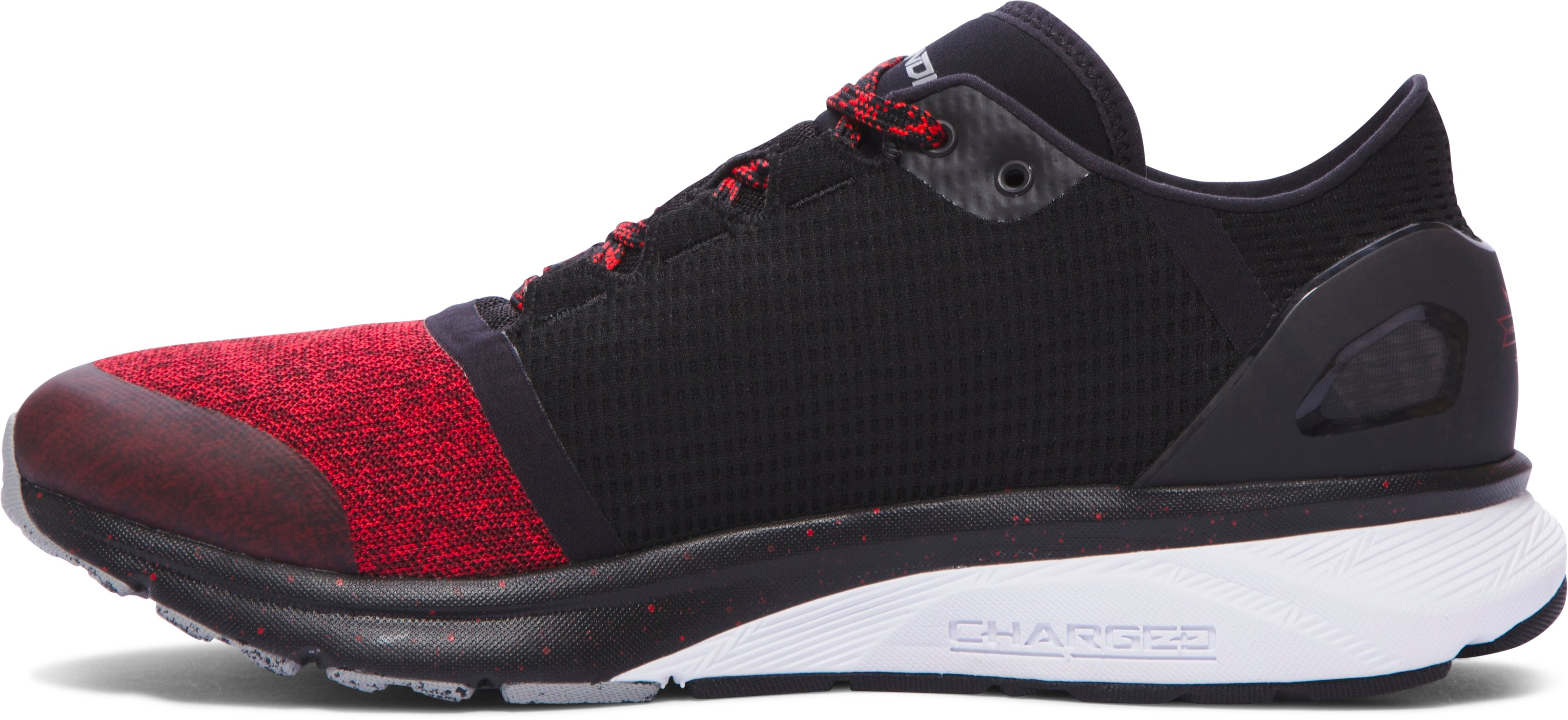Men's UA Charged Bandit 2 Running Shoes, Red