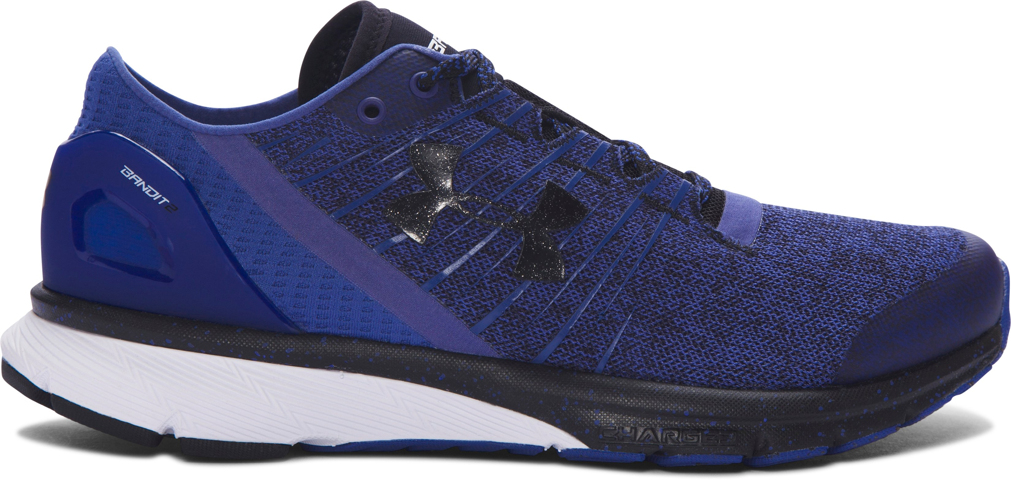 Women's UA Charged Bandit 2 Running Shoes, DEEP PERIWINKLE, zoomed image