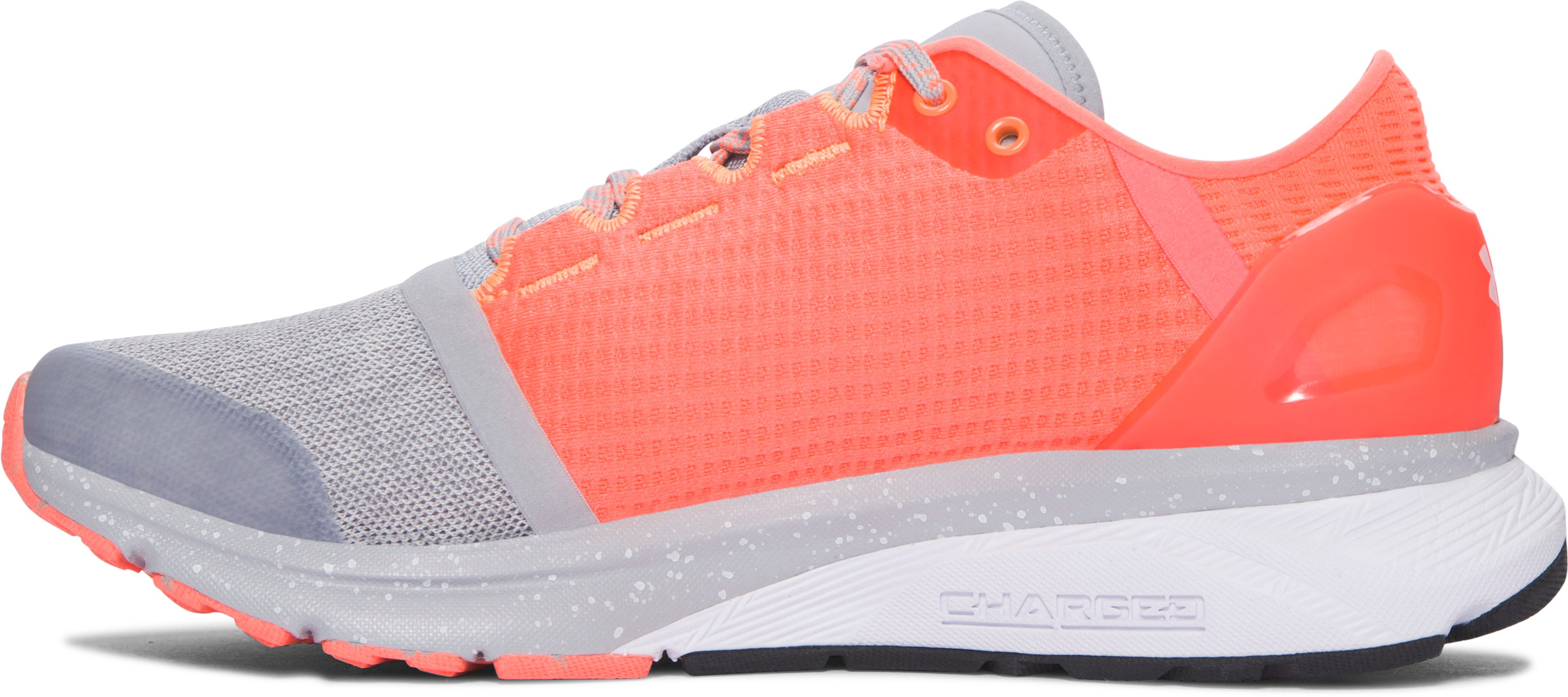 Women's UA Charged Bandit 2 Running Shoes, OVERCAST GRAY, undefined