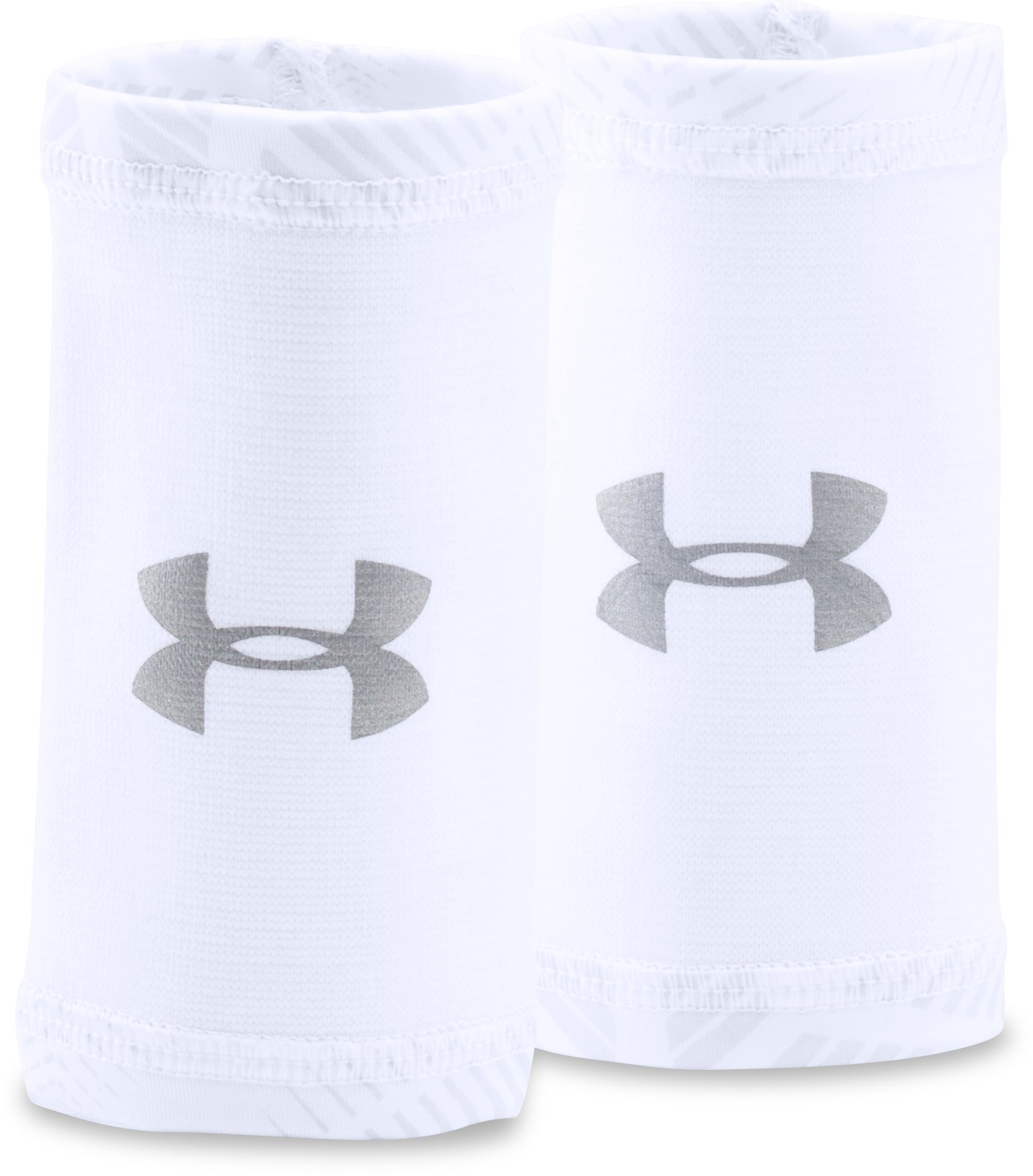 Men's UA CoolSwitch Wristbands, White,