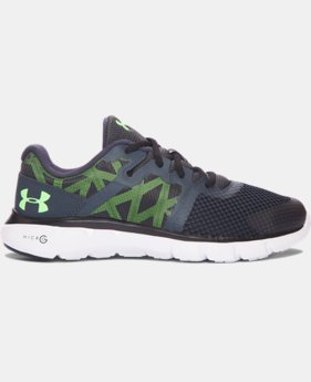 Boys' Grade School UA Micro G® Shift Running Shoes  1 Color $38.99
