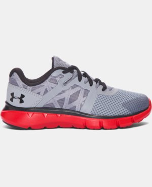 New Arrival Boys' Pre-School UA Shift Running Shoes   $54.99