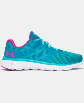 Girls' Grade School UA Micro G® Shift Running Shoes LIMITED TIME: FREE U.S. SHIPPING 1 Color $48.99