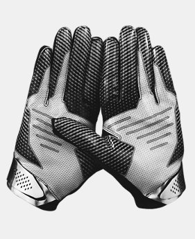 Men's UA Spotlight Football Gloves-*Ships 3/5/16*