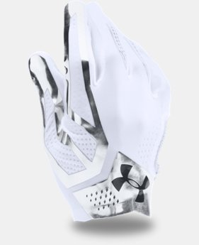 New Arrival  Men's UA Spotlight Football Gloves  1 Color $69.99