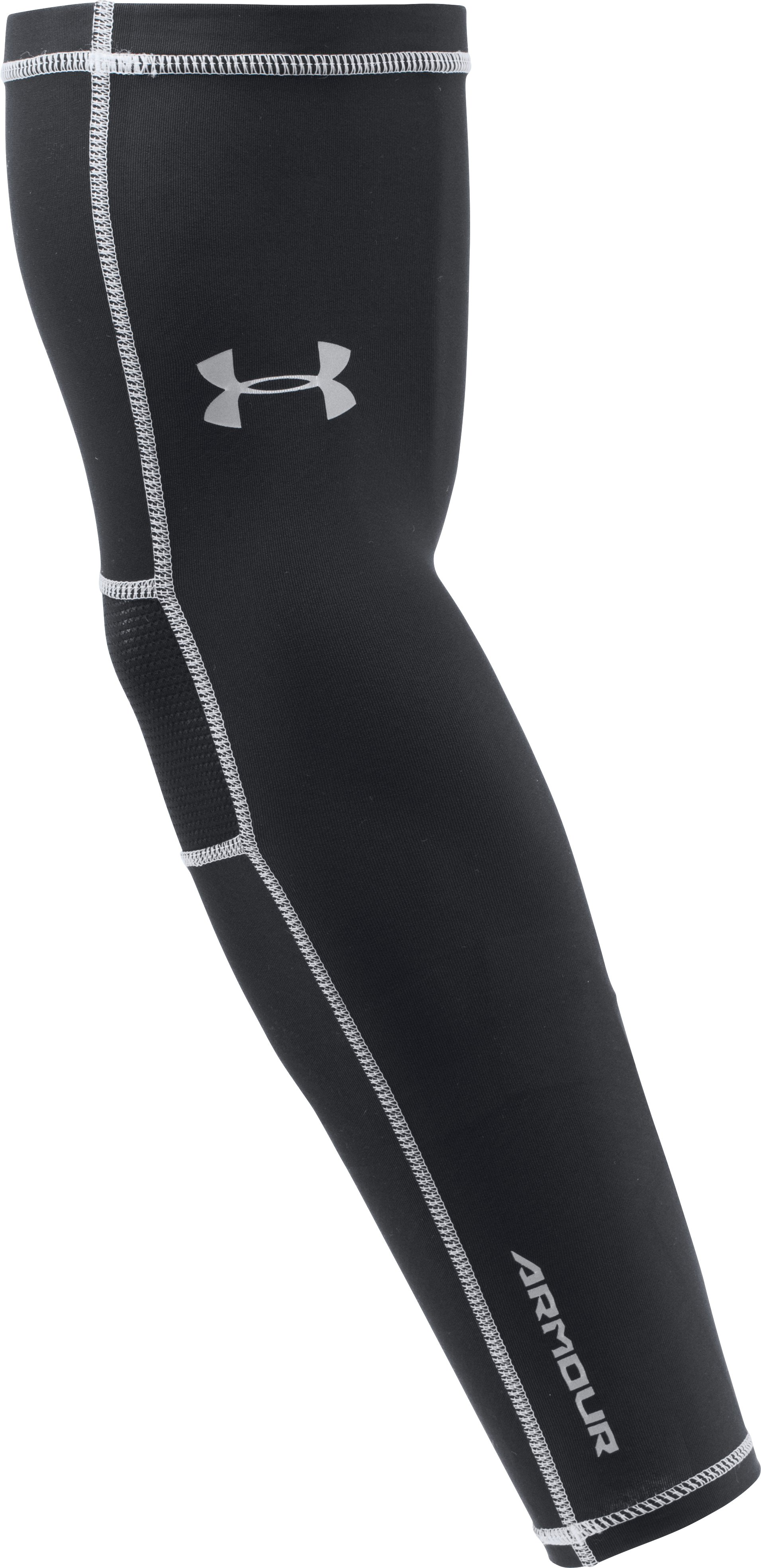 Men's UA CoolSwitch Arm Sleeves, Black , undefined