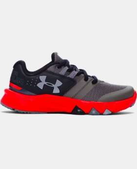 Best Seller Boys' Pre-School UA Primed Running Shoes  4 Colors $57.99