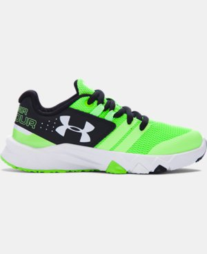 Boys' Pre-School UA Primed Running Shoes LIMITED TIME: FREE U.S. SHIPPING 1 Color $57.99
