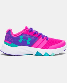 New Arrival  Girls' Pre-School UA Primed Running Shoes  1 Color $69.99