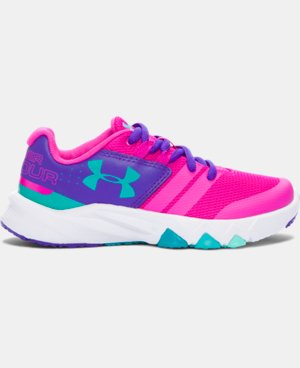 Girls' Pre-School UA Primed Running Shoes LIMITED TIME: FREE U.S. SHIPPING 1 Color $57.99
