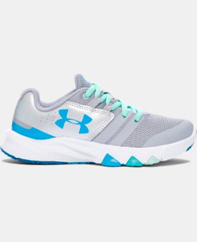 Best Seller Girls' Pre-School UA Primed Running Shoes  2 Colors $57.99