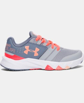 Best Seller Girls' Pre-School UA Primed Running Shoes   $57.99