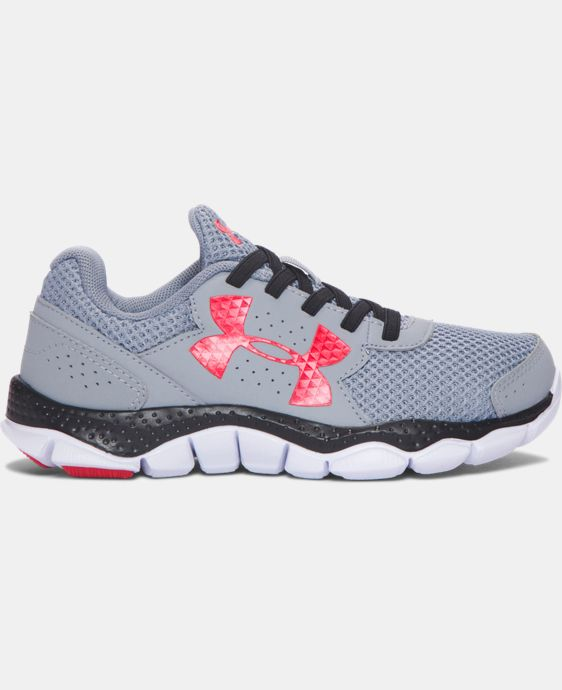 New Arrival Boys' Pre-School UA Engage 3 Big Logo Running Shoes   $54.99