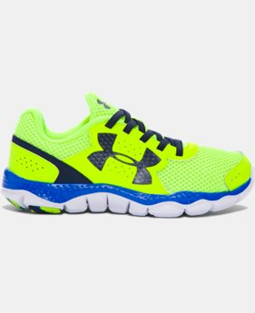 Boys' Pre-School UA Engage III Big Logo Running Shoes   $54.99