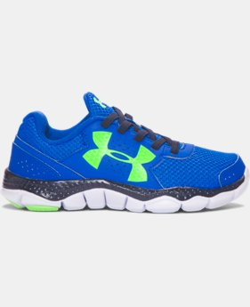 New Arrival Boys' Pre-School UA Engage III Big Logo Running Shoes  1 Color $54.99