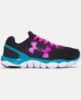 Girls' Pre-School UA Engage 3 Big Logo AL Running Shoes LIMITED TIME OFFER + FREE U.S. SHIPPING  $29.99