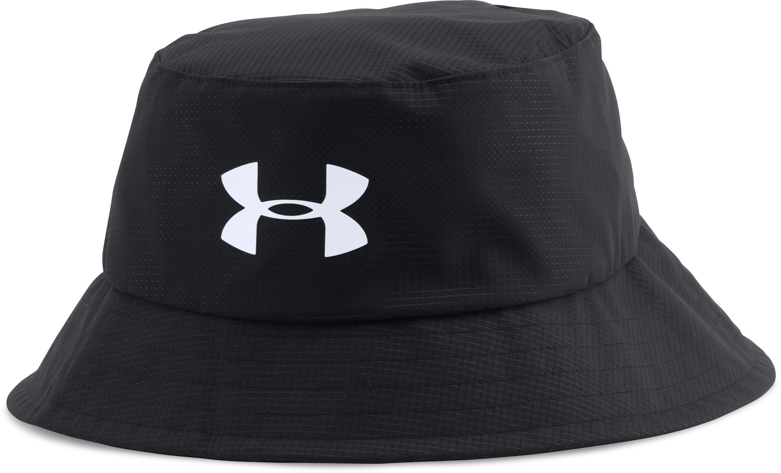 Men's UA Storm Golf Bucket Hat, Black ,