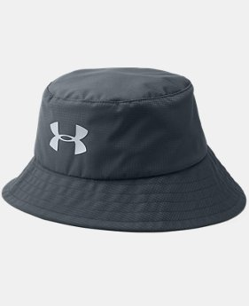Men's UA Storm Golf Bucket Hat  1  Color Available $29.99