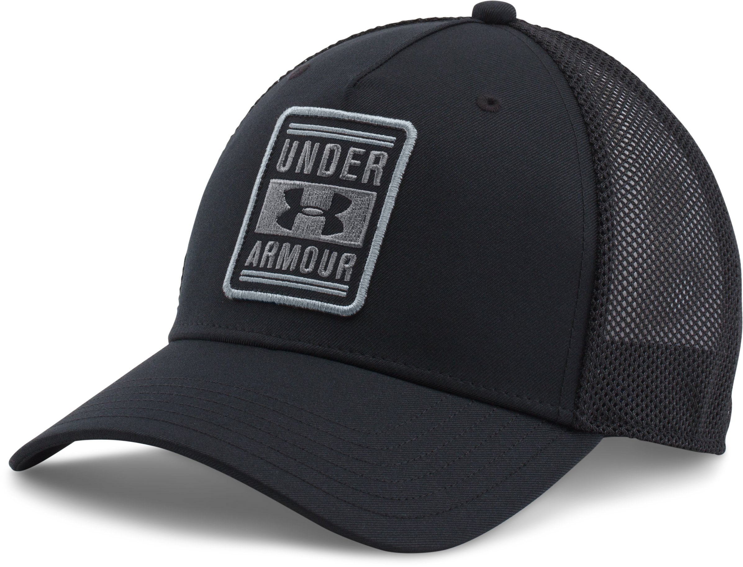 Men's UA Trucker Low Crown Cap, Black