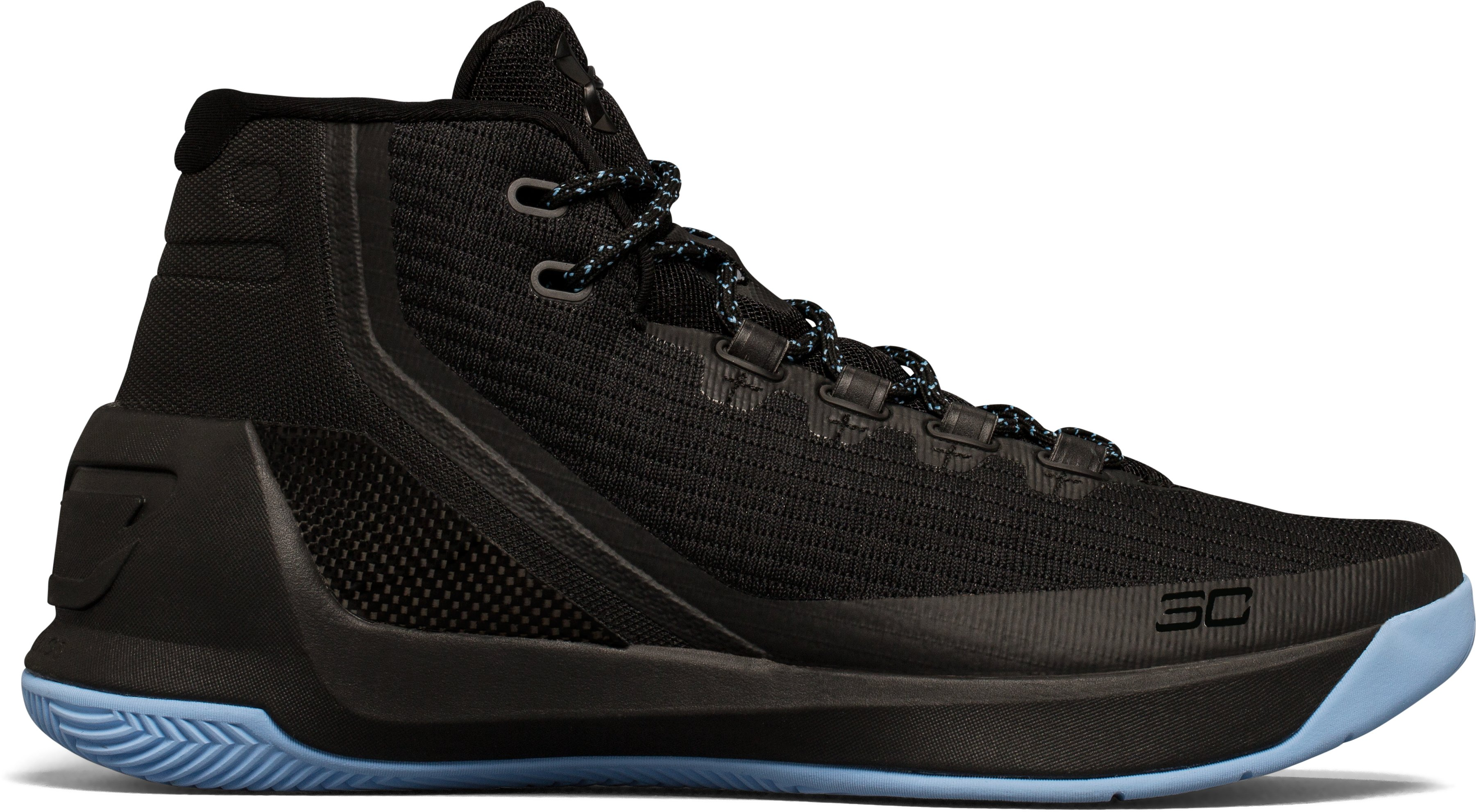 Boys' Grade School UA Curry 3 Basketball Shoes, Black , undefined
