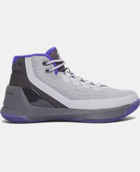 Boys' Grade School UA Curry 3 Basketball Shoes  4 Colors $86.99