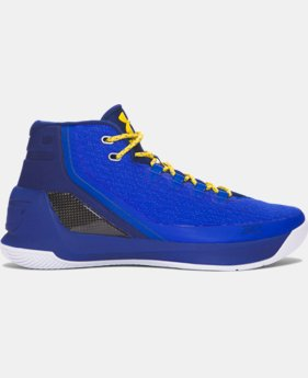 New Arrival  Kids' Grade School UA Curry Three Basketball Shoes  1 Color $139.99