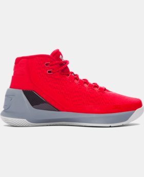 Boys' Grade School UA Curry 3 Basketball Shoes  2 Colors $86.99 to $849