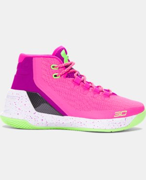 New Arrival Boys' Grade School UA Curry 3 Basketball Shoes  1 Color $114.99