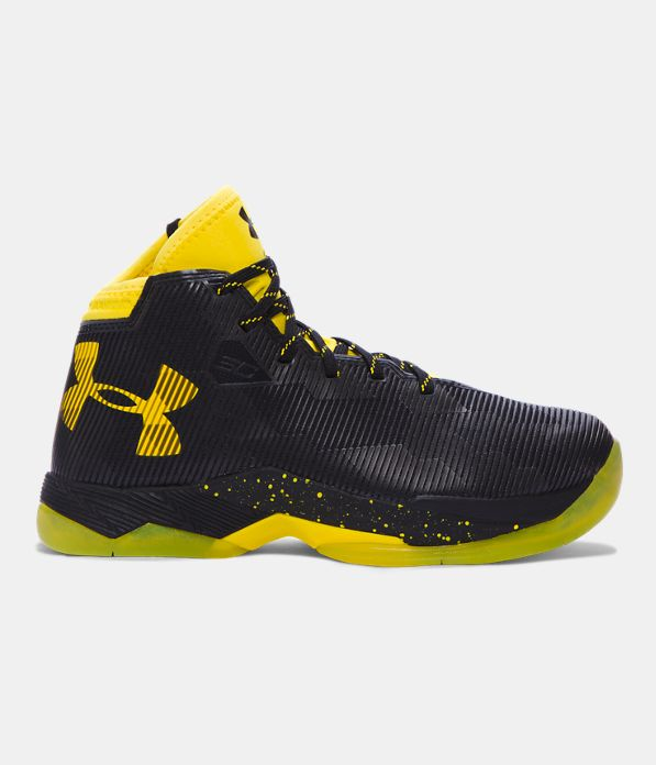 Boys Grade School Ua Curry 25 Basketball Shoes Under Armour Li