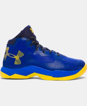 Best Seller Boys' Grade School UA Curry 2.5 Basketball Shoes LIMITED TIME: FREE U.S. SHIPPING 1 Color $114.99