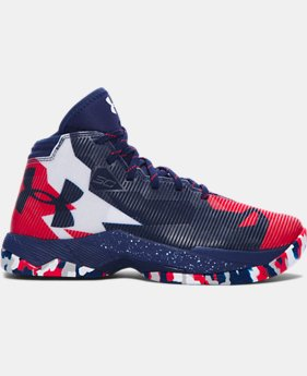 Boys' Grade School UA Curry 2.5 Basketball Shoes LIMITED TIME: FREE SHIPPING 1 Color $104.99 to $139.99