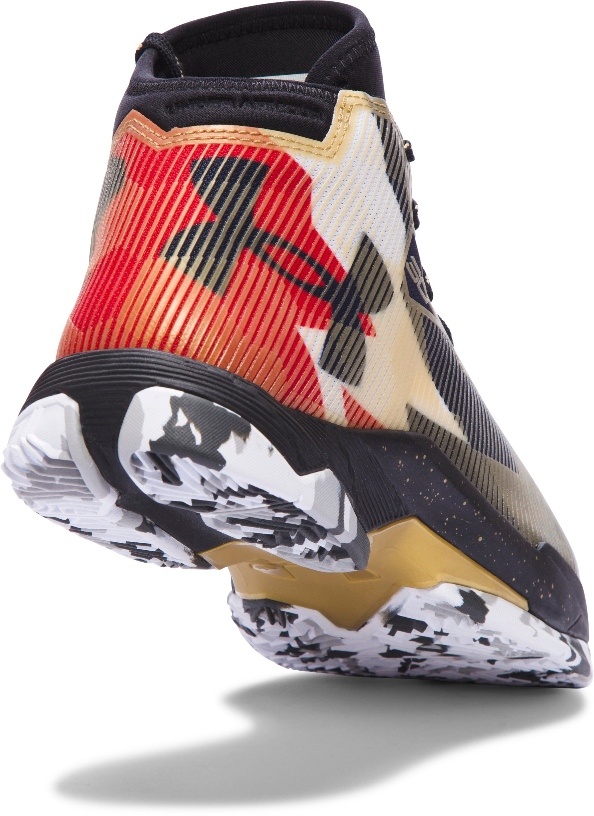 Boys' Grade School UA Curry 2.5 Basketball Shoes, Heavy Metal,