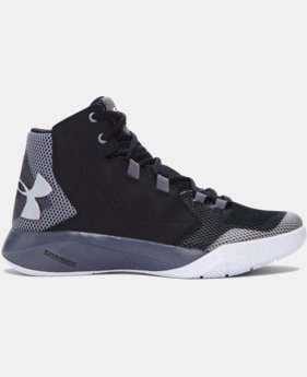 Boys' Grade School UA Torch Fade Basketball Shoes