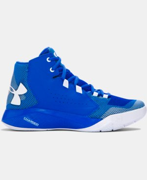 Boys' Grade School UA Torch Fade Basketball Shoes   $59.99